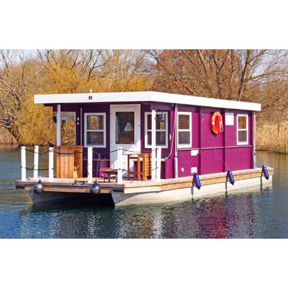 Hausboot-Kurzurlaub für 4