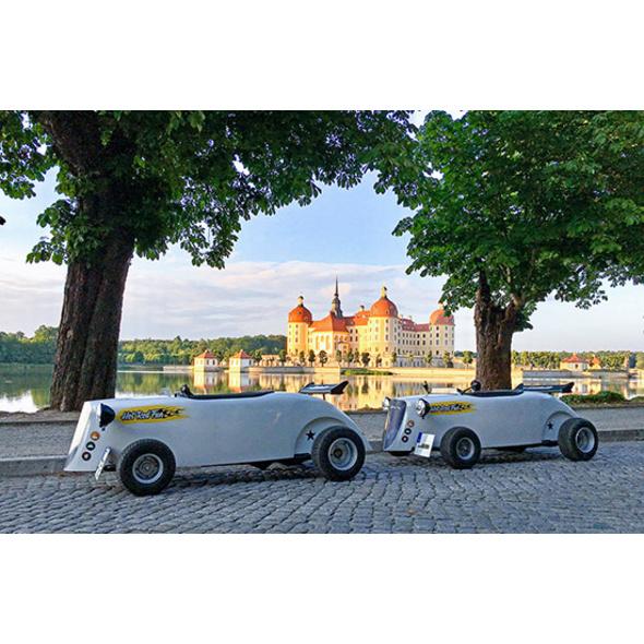 Hot Rod Citytour in Dresden