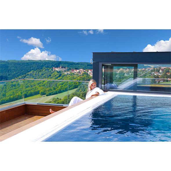 Wellness-Kurzurlaub in Hohenlohe für 2