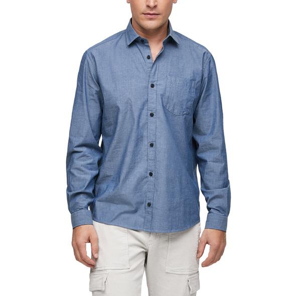 Regular: Hemd aus Chambray - Hemd