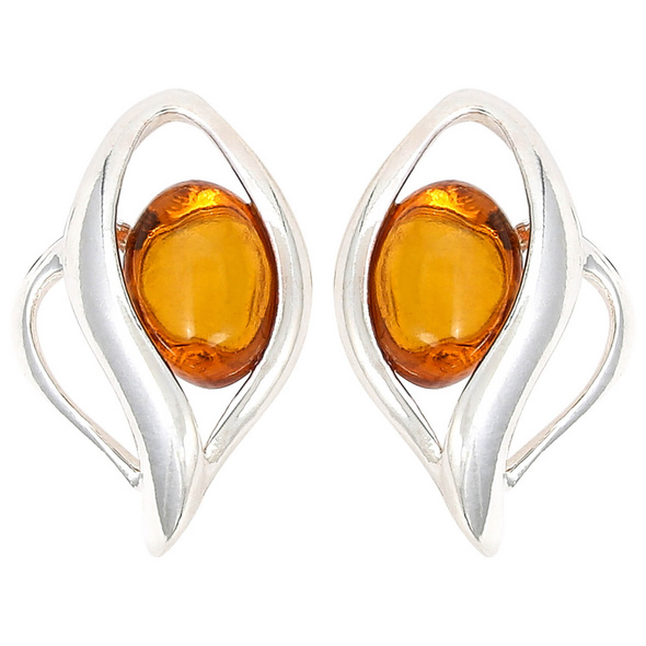 Ohrstecker - Magic Amber