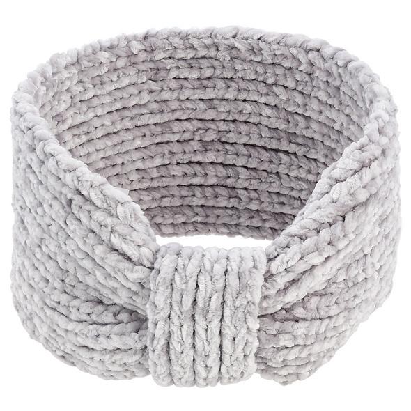 Stirnband - Silver Velvet