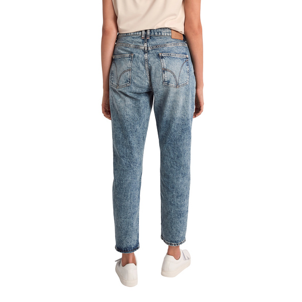 Relaxed: Jeans mit Waschung - Boyfriend-Jeans