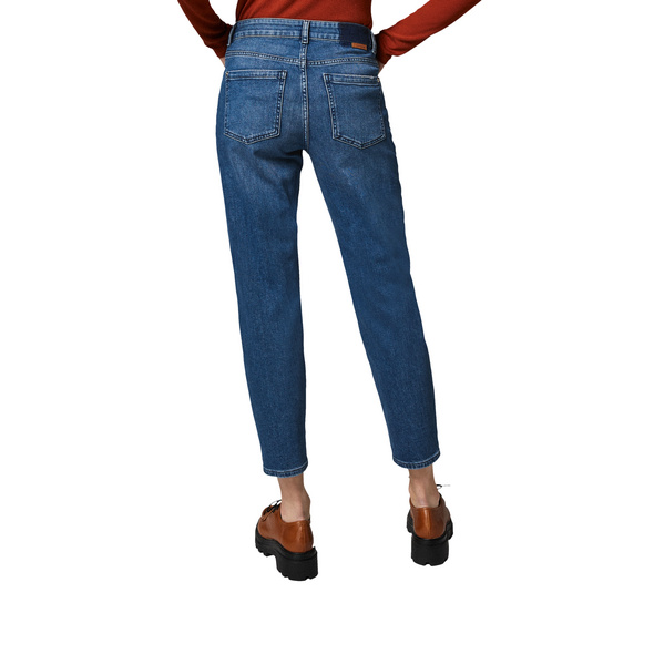 Slim: 7/8-Jeans mit Waschung - Stretchjeans