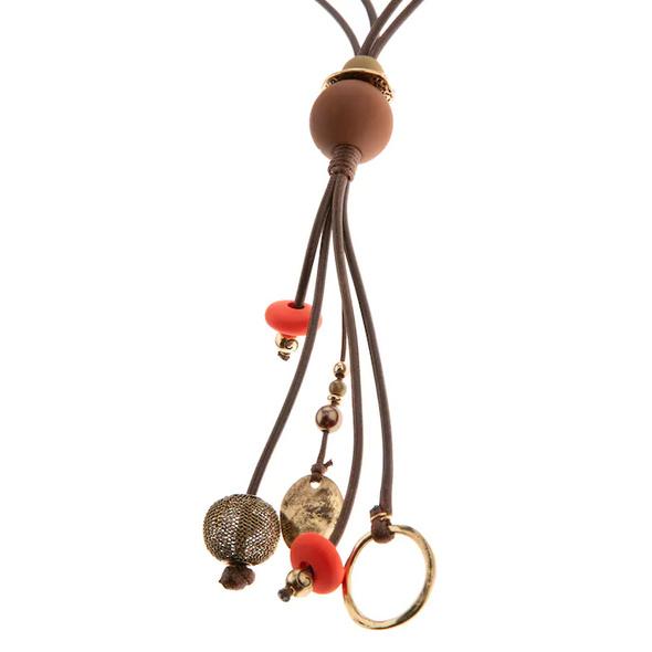 Longkette, verschiedene Dekore, doppeltes Textilband