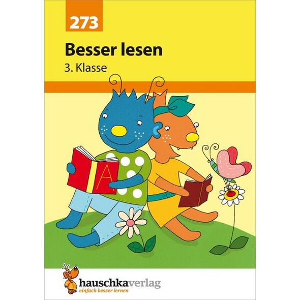 Besser lesen 3. Klasse, A5- Heft