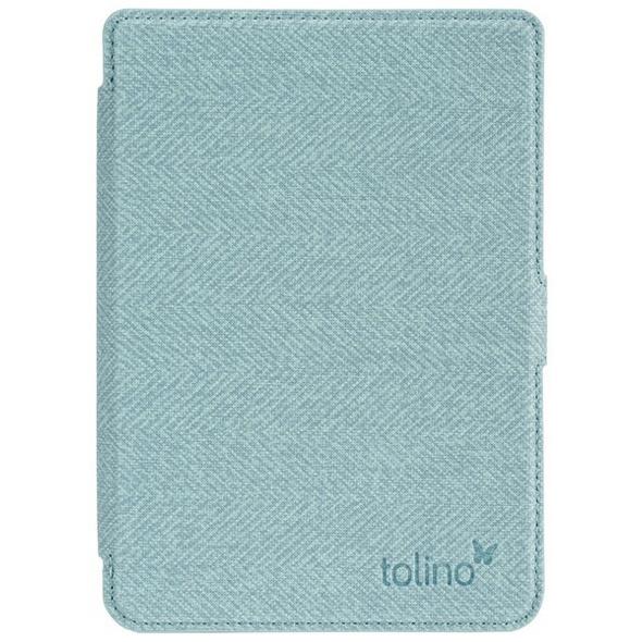 tolino shine 3 - Tasche Slim - blau/gelb