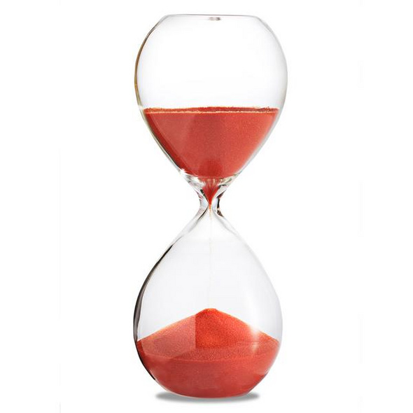 Sanduhr 'Time Out' 10 Minuten, orange