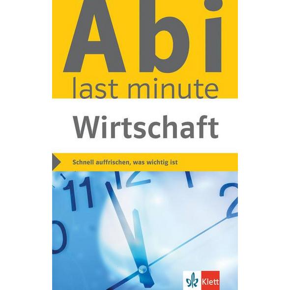 Klett Abi last minute Wirtschaft