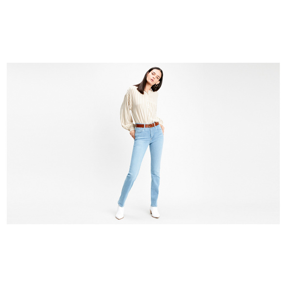 724™ High Rise Straight Jeans
