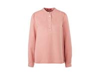 Bluse mit Druckknopf-Verschluss - Twill-Bluse