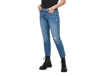 Slim Fit: Jeans mit Schmuckperlen - Jeans
