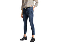 Slim Fit: Jeans mit Waschung - 7/8-Jeans