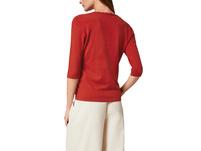 Pullover mit Bogenkante - Pullover