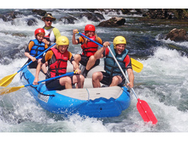 Rafting in Nord-Kroatien