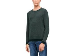 Pullover mit Ringelstruktur - Strick-Pullover