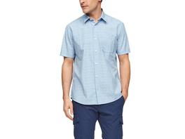 Regular: Kariertes Kurzarmhemd - Hemd