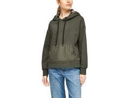 Sweatshirt im Fabricmix - Sweatshirt