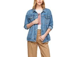 Jeansjacke in Oversize-Passform - Jeansjacke