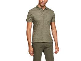 Poloshirt aus Flammgarnjersey - Jersey-Poloshirt