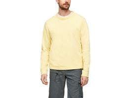 Sweatshirt mit Flammgarnstruktur - Pullover
