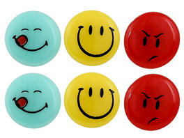 Kinder Ohrstecker - Smileys
