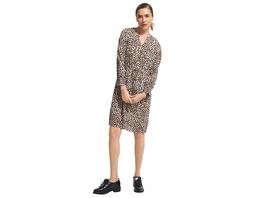 Tunikakleid aus Crêpe - Crêpe-Kleid