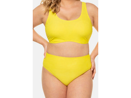Bikini-Slip, Trendfarbe, High Waist