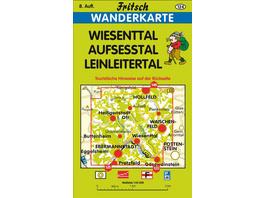 Wiesenttal - Aufsesstal - Leinleitertal 1 : 35 000. Fritsch Wanderkarte
