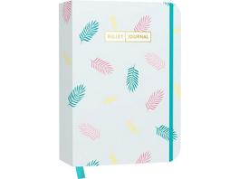 Bullet Journal 'Pastel Leaves'
